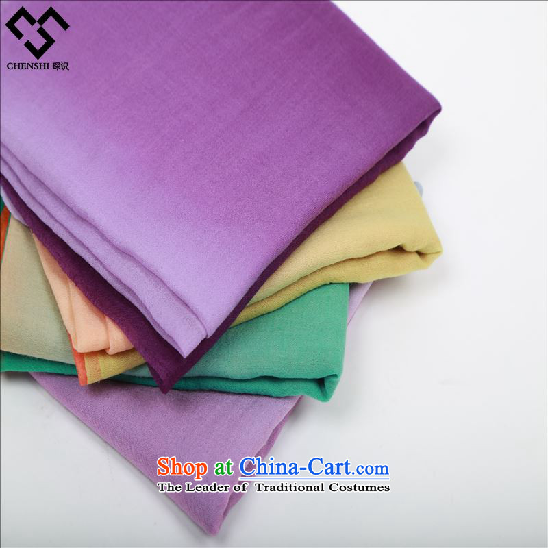 The elections in 2014 new international health wild woolen scarves simple yet elegant autumn and winter a gradient Purple