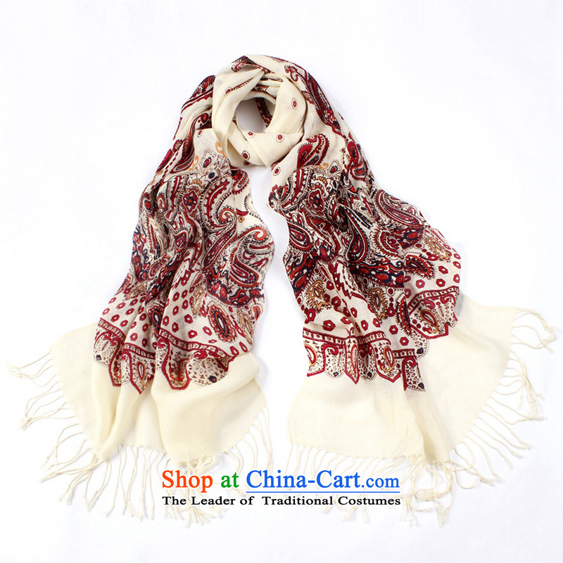 Shanghai Story Ms. wooler scarf new autumn and winter 80 thick warm a Korean version stamp stylish o wool13# Fancy Scarf