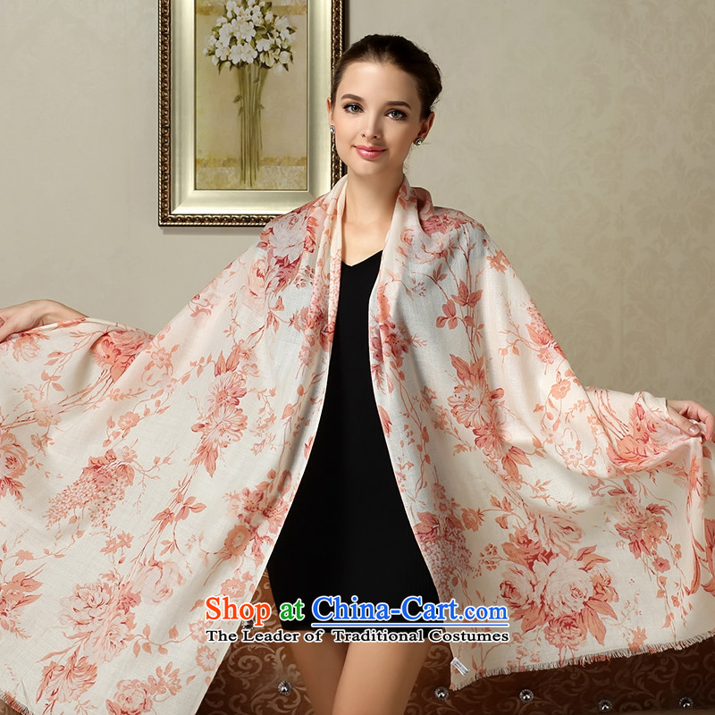 Fallay Shoka genuine 2015 autumn and winter, western suit wool large shawl use two of the scarf Ms. Frost Autumn Chrysanthemum