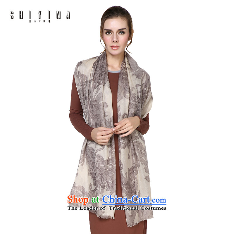 Ms Ina _shiyina_ autumn and winter Ms. pashmina shawl Flow warm so long scarf daisy-chained