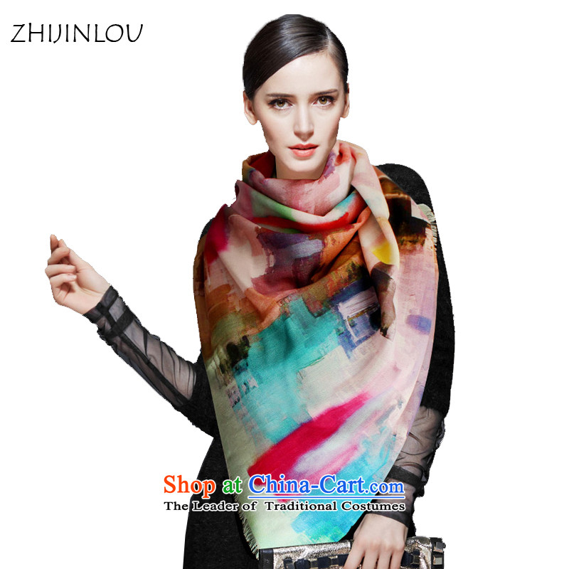 Floor Air-conditioning woolen shawl tapestries, spring and autumn winter two wool a blue scarf