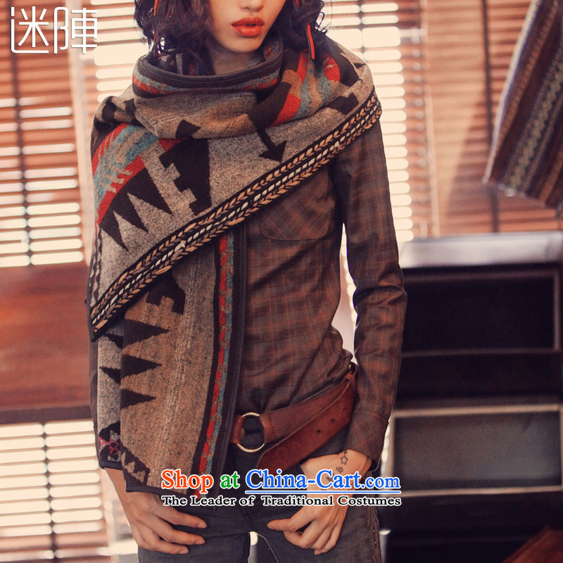 2015 Autumn and winter labyrinth of hundreds of new ethnic women Fancy Scarf
