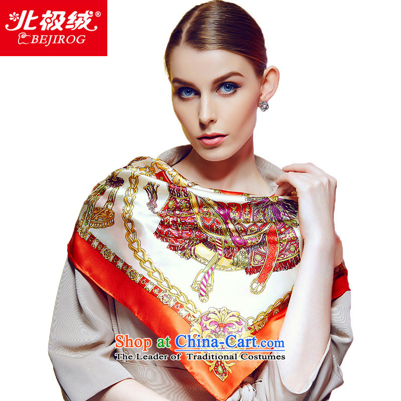 The Arctic Winter 2015, lint-free new Silk shawl Ms. herbs extract shawl scarf Russian style