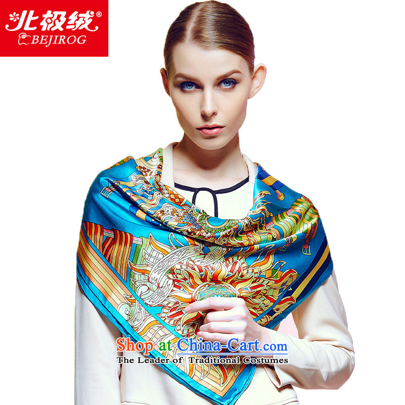 Arctic lint-free fall and winter New Silk shawl Ms. herbs extract stylish shawl scarf of Greek Mythology