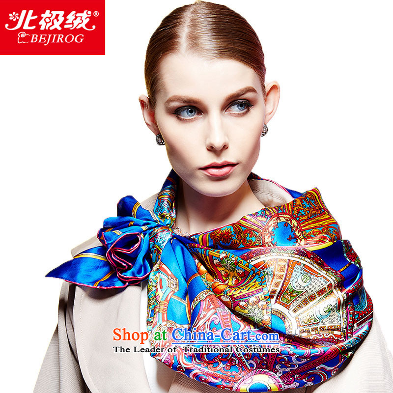 The Arctic Winter 2015, lint-free new silk scarf and classy and stylish Ms. herbs extract shawl scarf Egypt Yim after 1_