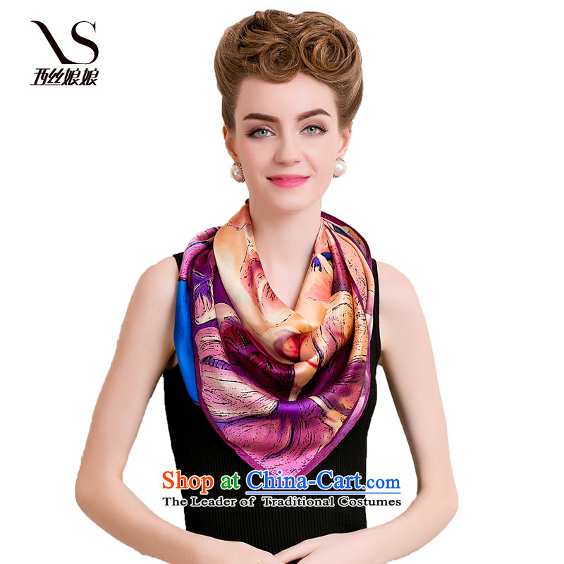 The population of the west to protect Unhyeon autumn and winter stylish sauna silk scarves silk scarves Ms. gift and classy towel shawl silk scarfs G flowers are code 136120