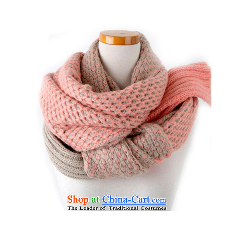 The Korean version of the new 2014 Knitting scarves knitted long thick and a shawl toner