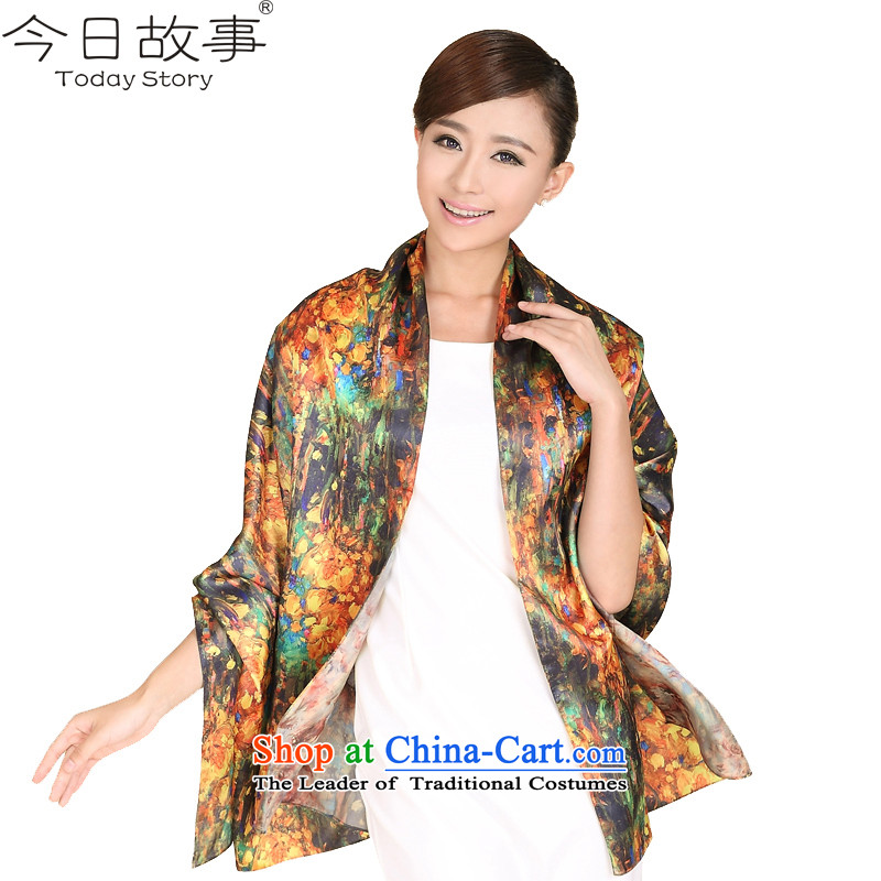 Fancy Scarf 1 story today girls autumn and winter warm a stylish J3125 stamp cover Lover Huang - stamp green duplex