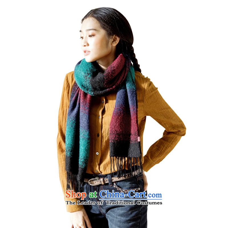 Athena Chu Cayman scarf 2015 new color gradient stitching warm arts wild scarf female elected as soon as possible mix of 843230916X