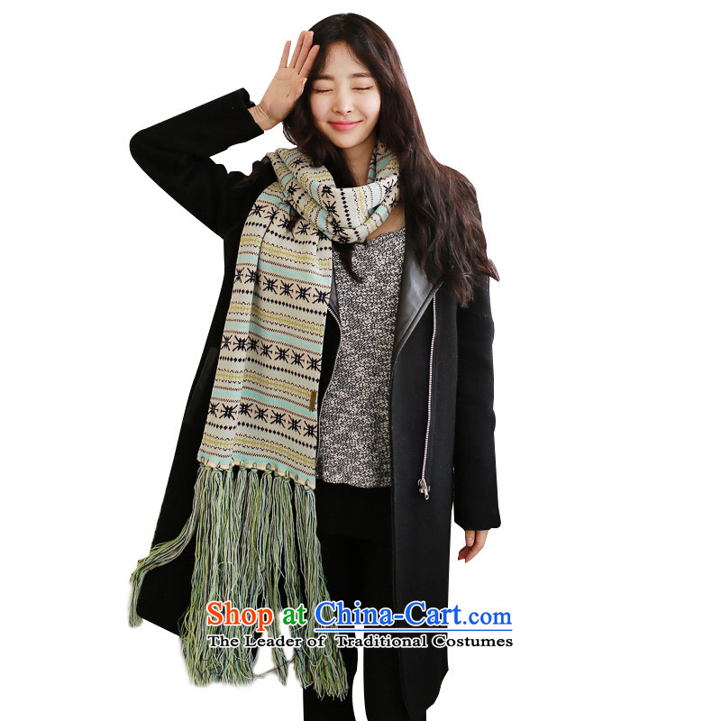 The 2014 autumn and winter psstyle new thick warm color plane Flex scarves scarf lover Knitting scarves