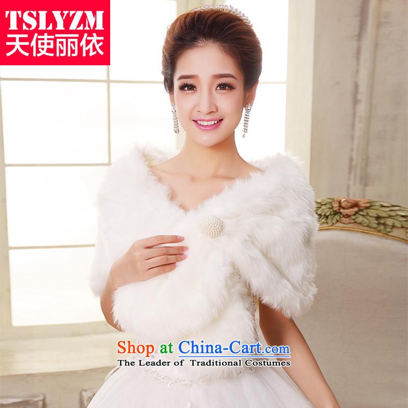 Tslyzm wedding gross new bride shawl 2015 wedding dresses shawl marriage jacket qipao shawl autumn and winter White