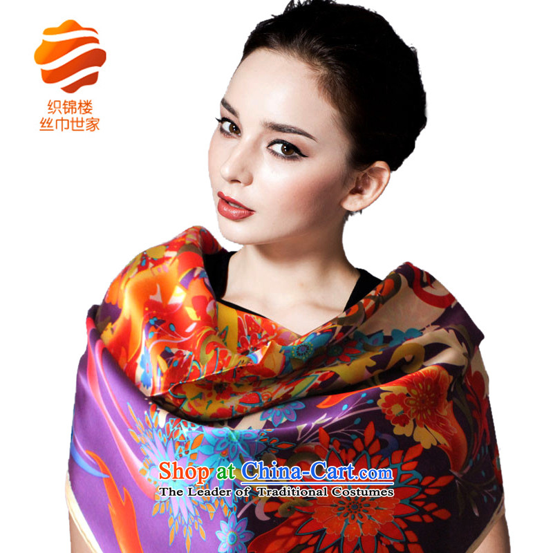 Tapestries floor silk scarf saga autumn and winter herbs extract and classy towel Ms. silk scarfs winter herbs extract shawl queen sexily