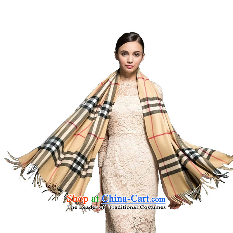Lin, butterfly 2015 new emulation pashmina shawl thick winter spring and autumn female two long England squares shawl a checkered edging shawl card its