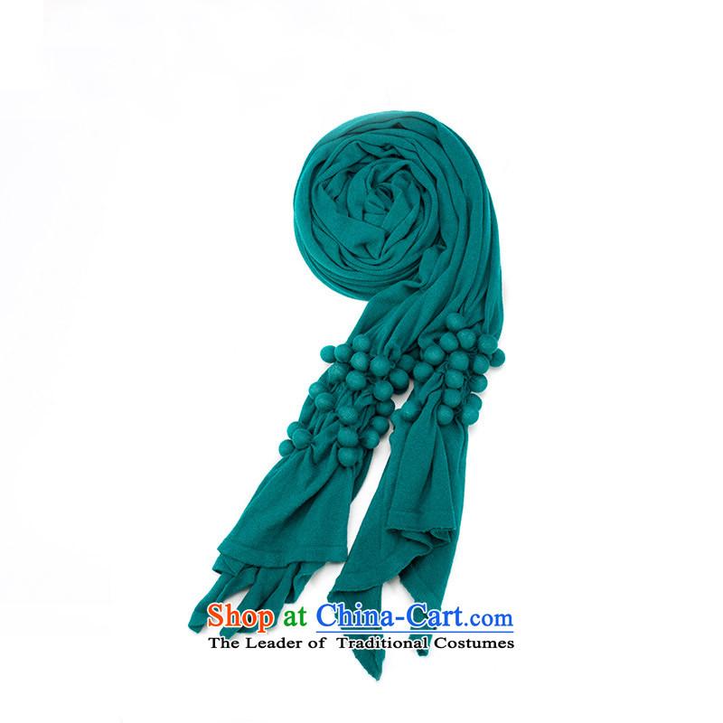 Athena Chu2014 new autumn Cayman, three-dimensional tie pure cotton ball soft wild scarf 8431400619 Ms. Diane Green