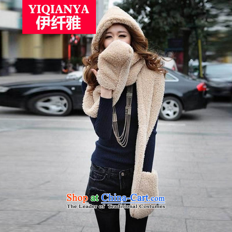 The former Yugoslavia, Iraq and Korean autumn and winter, a lovely thick wool hats scarves double gloves all-in-one, color picture W8032 universal no code