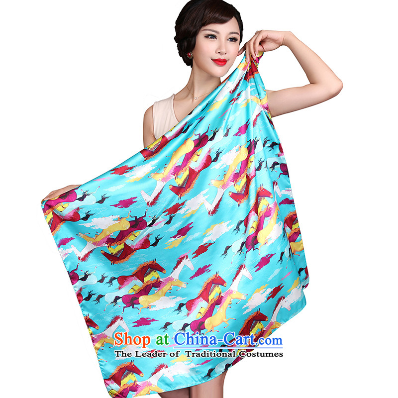 The Butterfly Dance Medley Ms. New Silk and classy towel spring and autumn herbs extract silk scarf scarf 2,005 Zebra