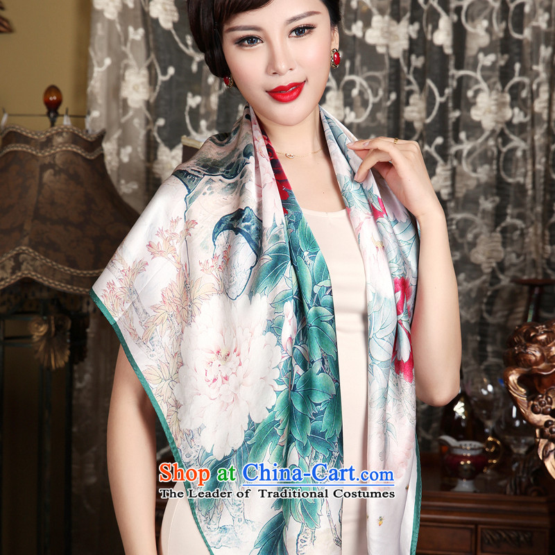 The Butterfly Dance Medley New Silk Scarf silk scarf and classy female sauna silk scarf as well as ideal gifts for huaxi Pik