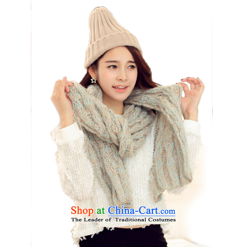 The Butterfly Korean Lam Spell Checker to seven colored neckerchief women color autumn and winter warm Thick Long Wai Shing Mohair Knitting scarves knitted twist Ms. Shanshan seven colored neckerchief
