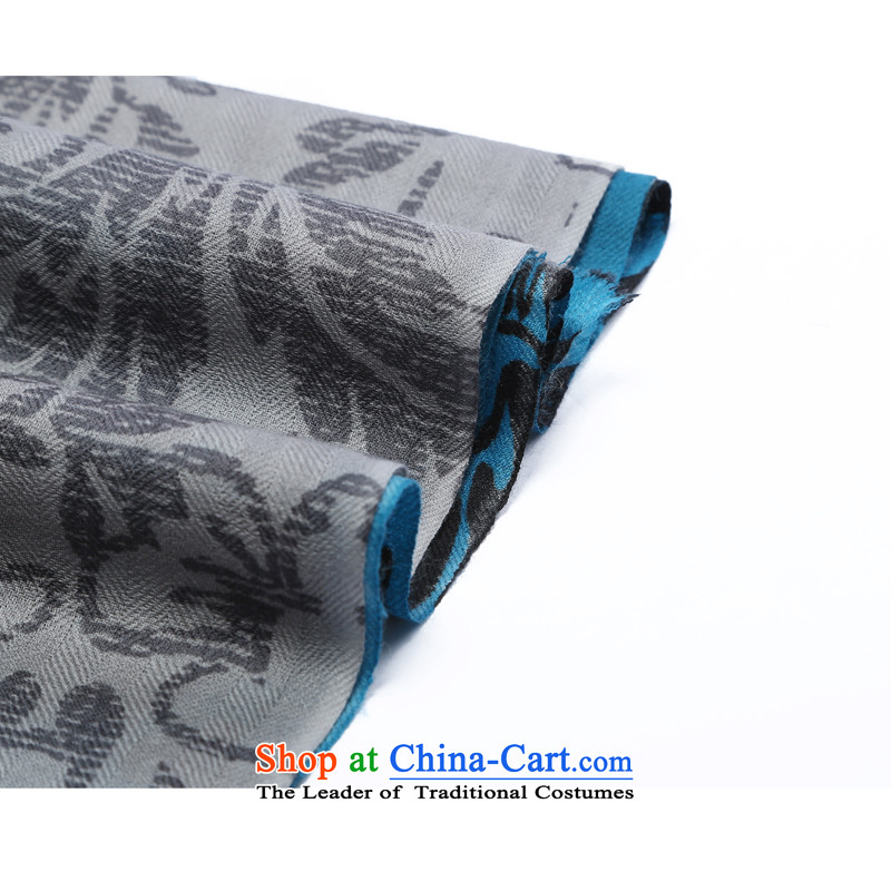 Hengyuan Cheung 2015 new products worsted wool o gross stamp heat sink sui, long Fancy Scarf gift box of blue stamp, hang Yuen Cheung-shopping on the Internet has been pressed.
