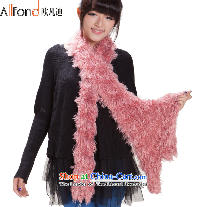 The OSCE van de scarves, Solid Color lovely large Maomao shawl ultra-soft resemble wild long a light pink