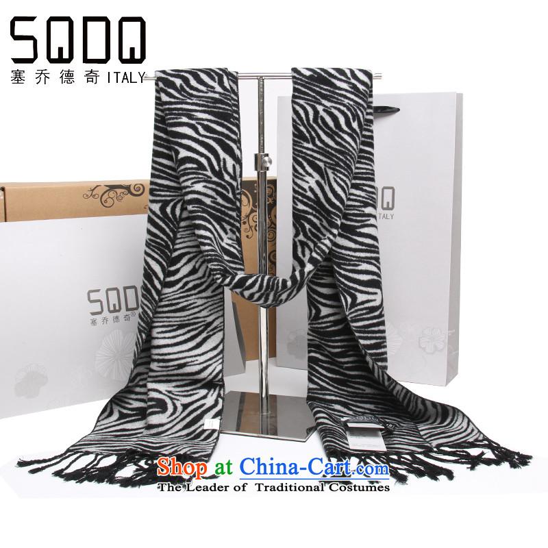 The Joe Detsch Ms. new Korean zebra stripes silk-ribbed polester velvet female gift box