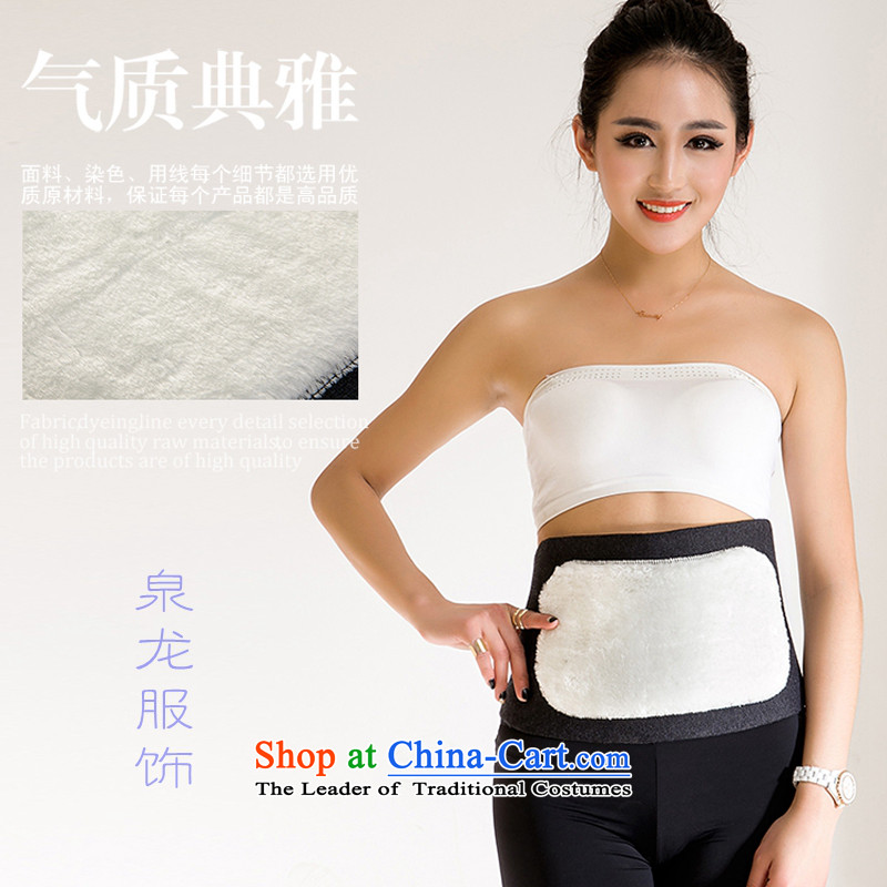 Chuen Lung, autumn and winter clothing, cashmere hooks J plus lint-free Back Support Belt and knee wool and cashmere, shoulder the wool Back Support Belt and knee shoulder and leg guard color