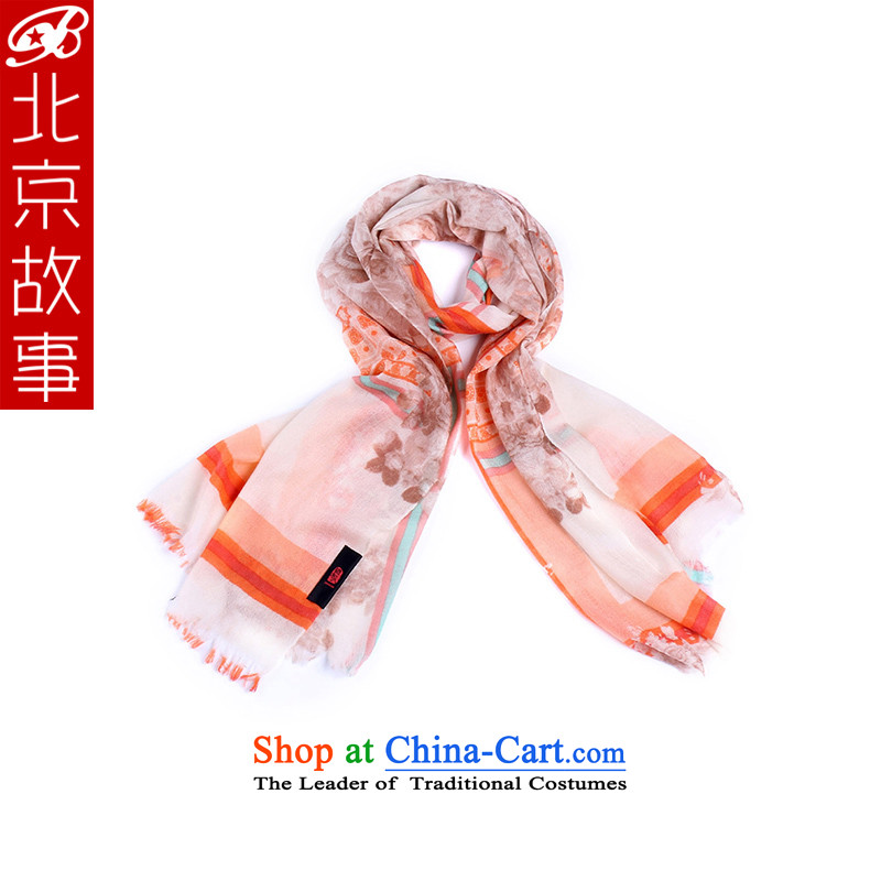 Beijing Ms. story of autumn and winter 200 pashmina shawl warm scarves with two large shawl 176016 orange