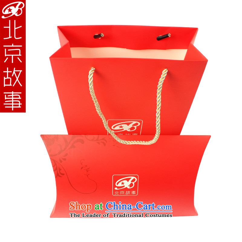 Beijing story boutique gift gifts dedicated graphics standard single shot does not ship Red
