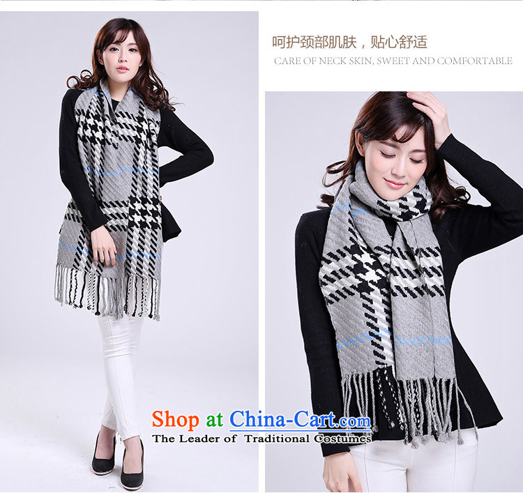 Wave Chien scarf unisex thick wool scarf stylish classic grid plaid wild classic scarf gray cells picture, prices, brand platters! The elections are supplied in the national character of distribution, so action, buy now enjoy more preferential! As soon as possible.
