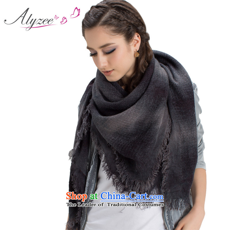 2015 European New President autumn and winter warm series poster process scarf Gray