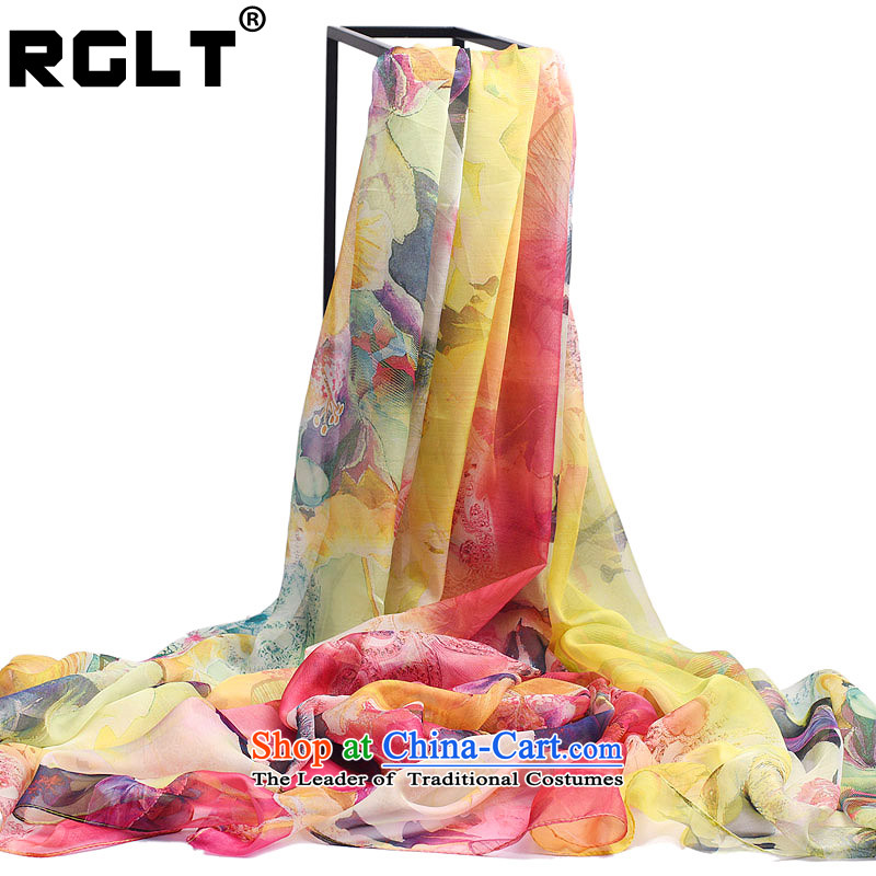 Rglt Rui,2015 new products for autumn and winter Ms. Aura skincare gliding sleek and stylish poster flowers large size silk scarf summer shawl years Fuser - Toner Doi