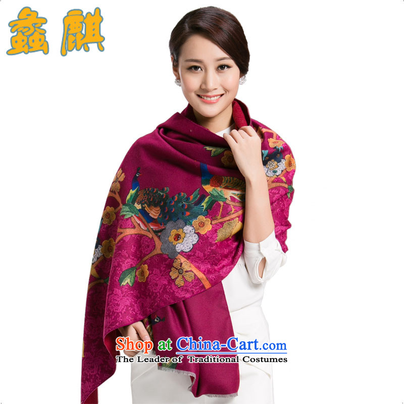 Dr Assembly2015 autumn and winter new pashmina shawl upscale Ms. stamp in the spring and fall to ultra-large wool a Style 3 are code
