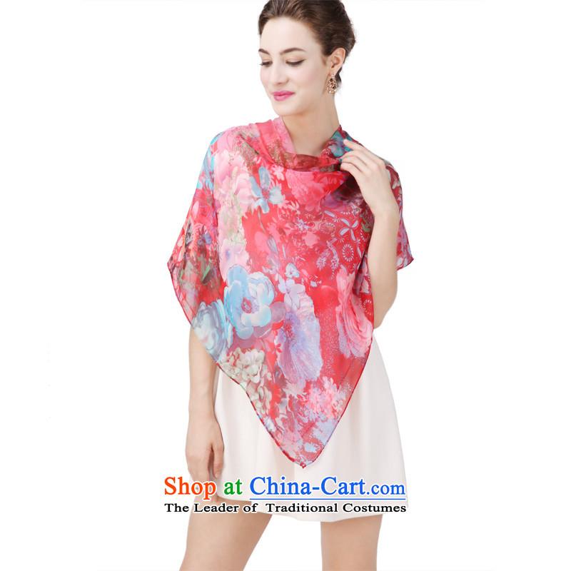 Shanghai Story herbs extract silk scarves silk scarf and classy, Alice Bai 135cm