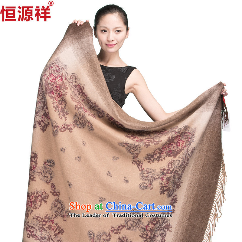 Hengyuan Eric Li dongqiu Ms. new wool air-conditioned shawl thick wool scarf and color model