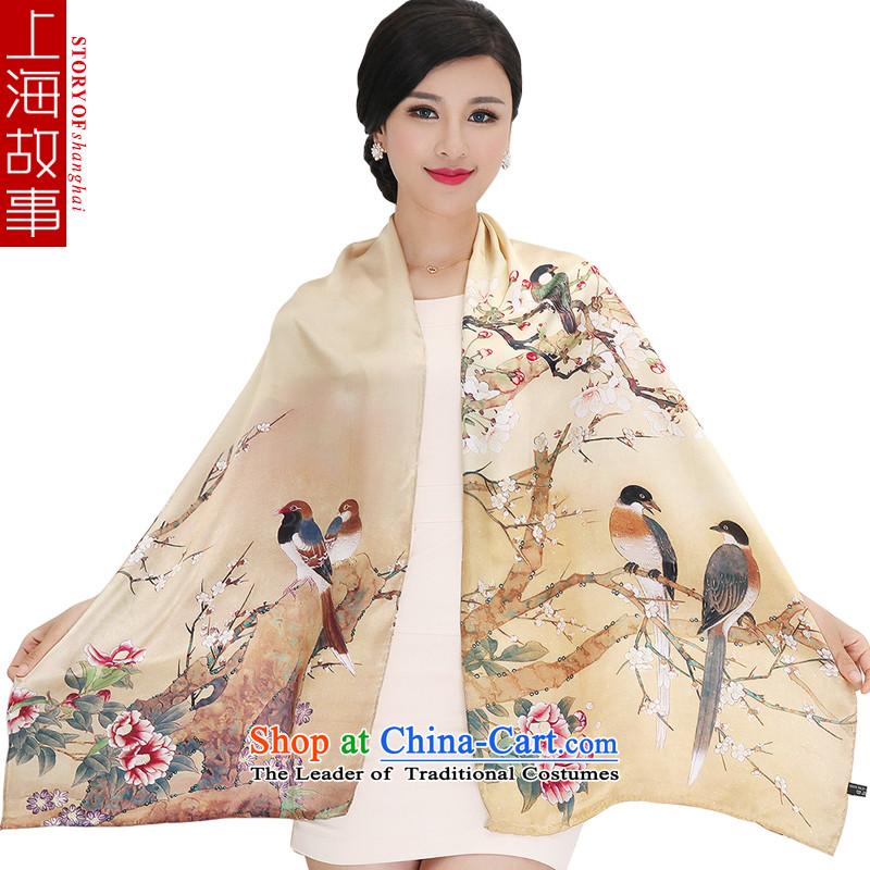 Shanghai Story silk scarves, sauna also silk scarf shawl masks in5#