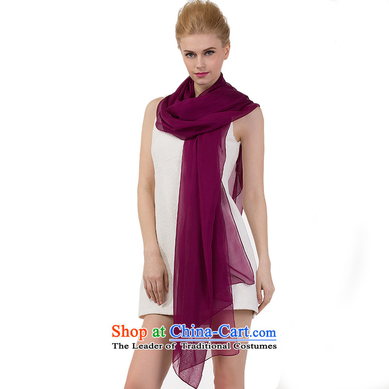 Avila dream female scarf new herbs extract spring and autumn) high pure color silk large silk shawlspayment relate exclusively to mauve