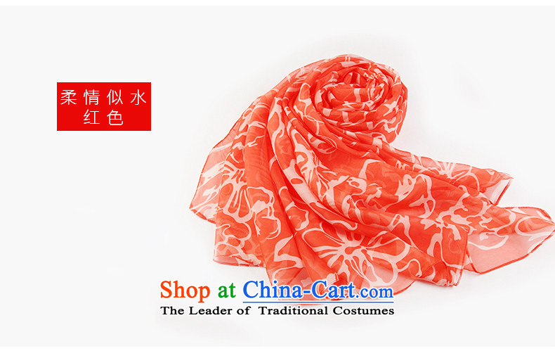 Antarctic nanjiren (Ms.) Emulation silk scarves long chiffon shawl masks in the tenderness like water prices, pictures, red brand platters! The elections are supplied in the national character of distribution, so action, buy now enjoy more preferential! As soon as possible.