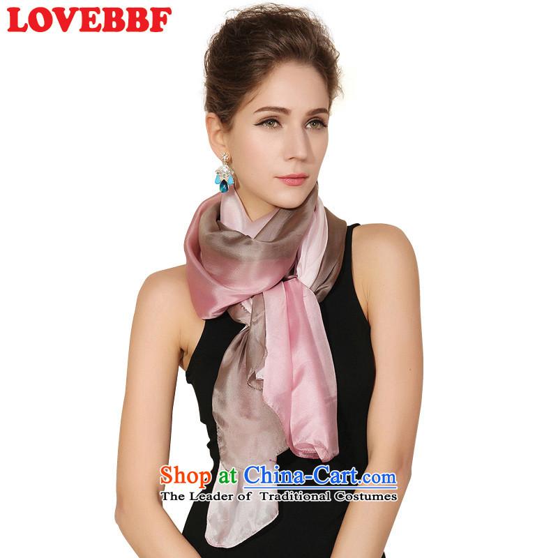Lovebbfnew silk shawls scarves sauna hand-painted silk scarf SJ-06 Ms. gradient (QC system as soon as possible toner are SJ-06- code