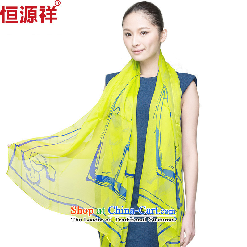 Hengyuan Cheung spring and fall silk scarfs won with snow spinning towel long winter sauna silk scarves sunscreen shawl171-4