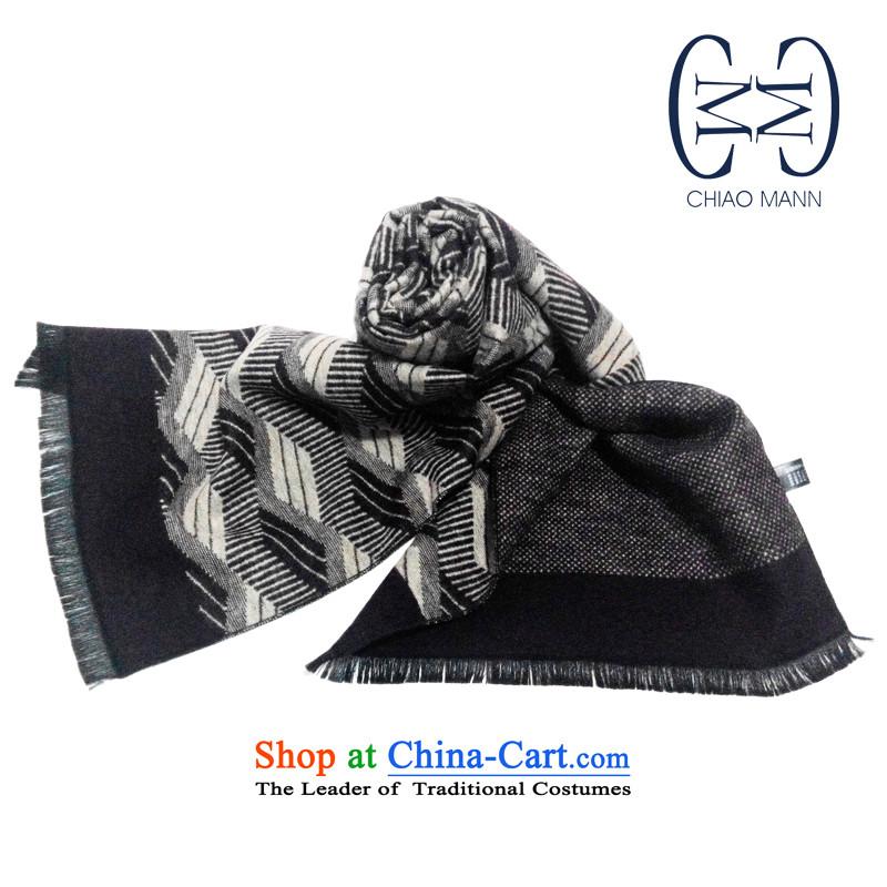 (chiaoman form) silk duplex jacquard long towel spring and summer new Wild shawl sunscreen with scarves silk scarfNo. 1