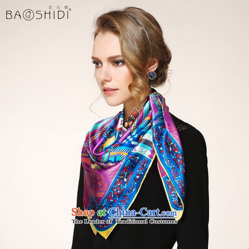 Gems butterfly silk scarvesspring 2015 new products heavyweight silk scarf silk scarf and classy towels/Miao EmbroideryNo. 2 Color