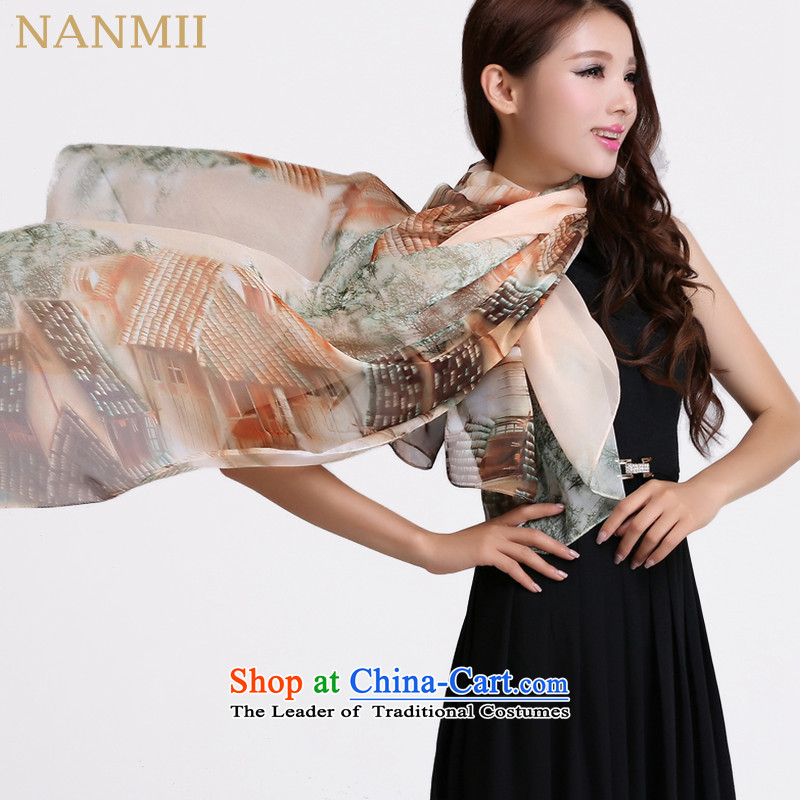 The desirability of long autumn, Indian shawls, scarf sunscreen silk scarf tin (170*140cm) Home