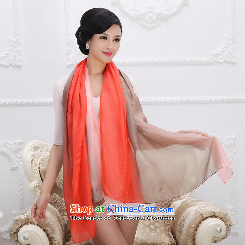 Shanghai Story gradient long silk scarf extension plus large size silk scarfs herbs extract knocked color Ocean Beach shawl 1#, woven Shanghai Story STORY & shanghai) , , , shopping on the Internet