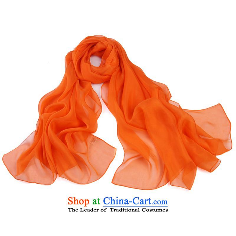 Shanghai Story Solid Color silk scarfs sauna silk scarves, fresh chiffon shawl7#