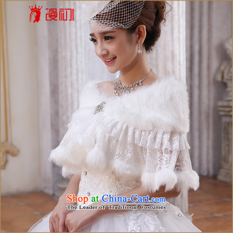 In the early 2015 new man and Maomao shawl marriages shawl wedding dress shawl white spring and autumn, white winter lace gross shawl