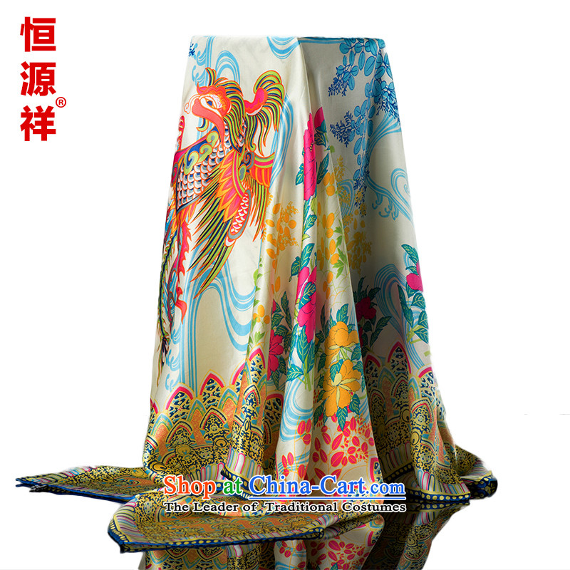 Hengyuan Cheung silk scarf upscale silk scarfs Ms. wild herbs extract spring and autumn, classy and towel silk scarves herbs extract 4#ZS8023 110*110 100%