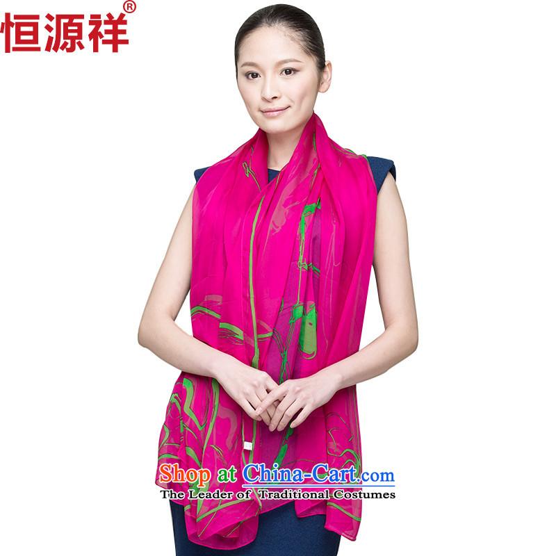 Hengyuan Cheung spring and fall silk scarfs Korean Super Heavy snow spinning towel long winter sauna silk scarves sunscreen shawl171-1