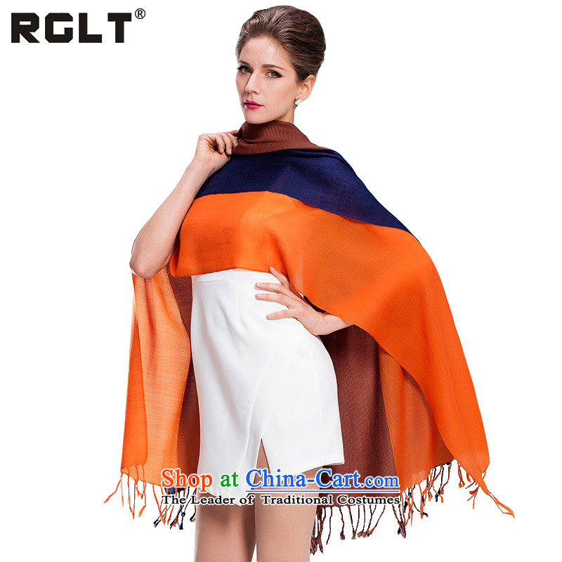 Rui, (RGLT) wool Fancy Scarf New Western Wind shawl dual-use of autumn and winter Thick Long Wave, female warm comfortable scarf live music