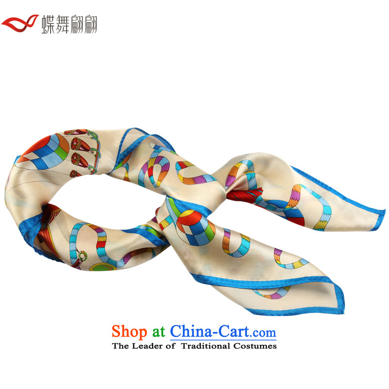 The Butterfly Dance medley of silk scarves 2015 Ms. new scarf and classy towel Chinese Lantern Carnivals m White