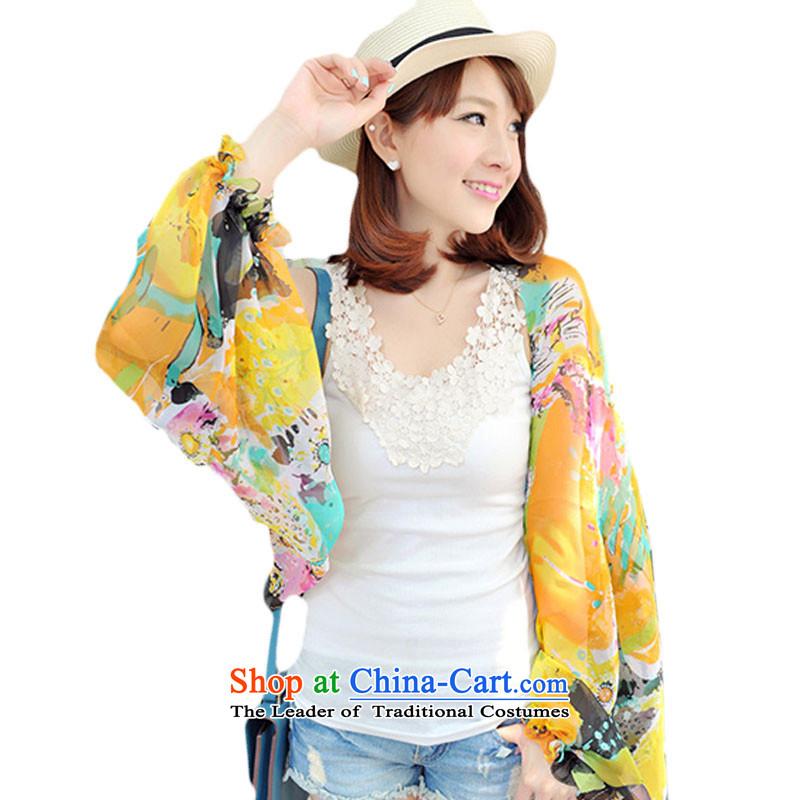 Shu Beth Summer New UV shawl cycling driving chiffon long-sleeved clothing with sunscreen silk scarf femalePp604gl-p( no 180*70cm)